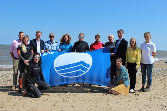 Oh we do like to be beside the (award-winning) seaside: Blue Flag - Cleethorpes Central