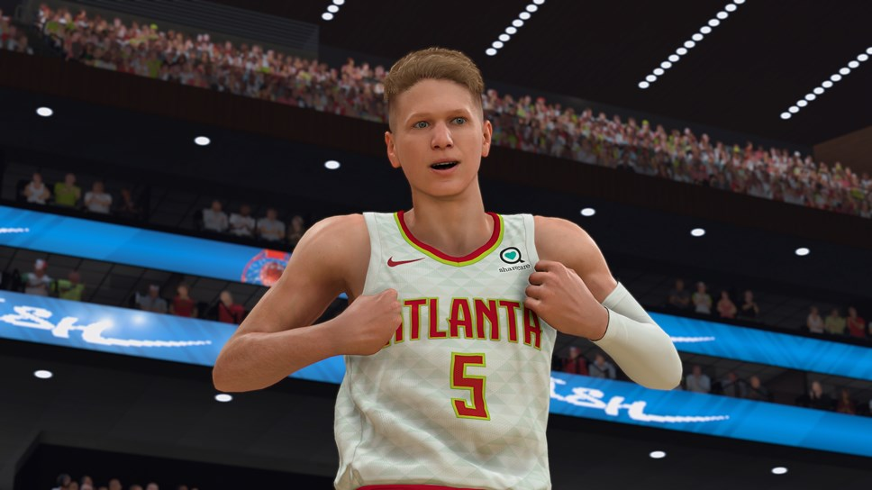 Make-A-Wish® Kid William Floyd Joins NBA® 2K20 Roster as First Authentically Scanned and Playable Fan in Basketball Video Game Series' History: NBA 2K20 - William Floyd Atlanta Hawks-3