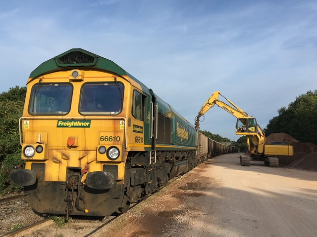 Freight trains carry over 250,000 tonnes of goods across South East in one week as COVID-19 crisis continues: Freight service - Chichester