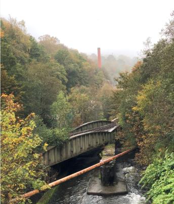 REMINDER: Crumlin's River Ebbw railway bridge £5m upgrade starts this weekend: River Ebbw railway bridge in Crumlin