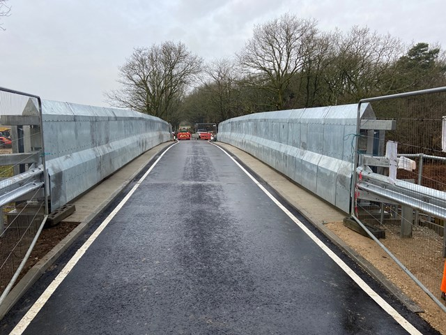 Eccles Heath bridge road side