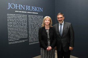Shona Robison at John Ruskin Exhibit - List