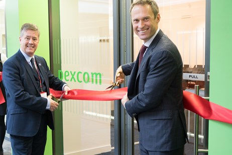 Diabetes management leader Dexcom breaks into EMEA markets with new Edinburgh HQ: IMG 9378