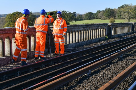 Brighton Mainline Upgrade Ouse Valley Oct 10  (48)