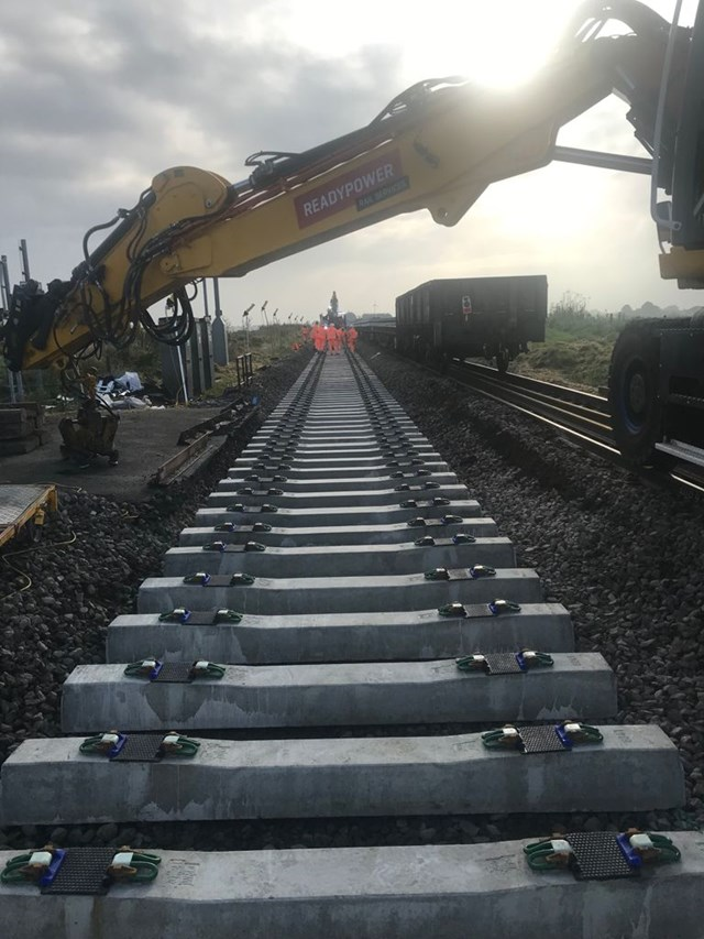 Ely to Peterborough rail line reopens following incident at Cambridgeshire level crossing: Kisbey track repairs-2