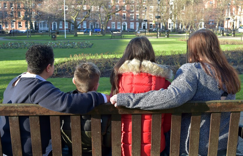 Foster families in Leeds are now benefitting from an award-winning fostering programme.: Foster family