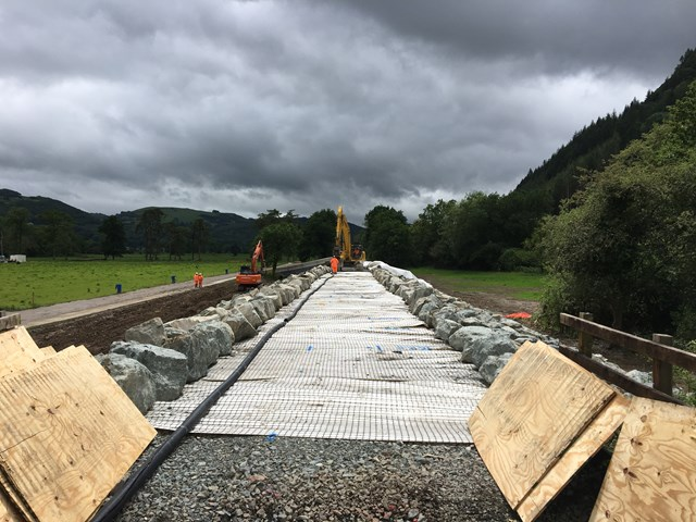 Network Rail invites residents to drop-in events to find out more about ongoing work to repair the Conwy Valley Line: ConwyValley1