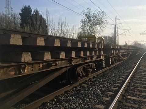 Tile Hill - Canley track renewal 1