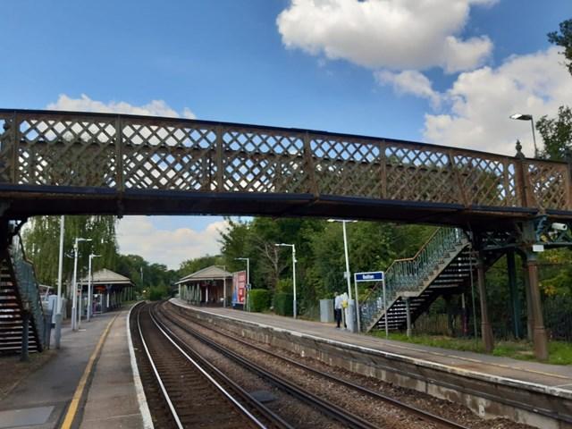 Bookham footbridge 2