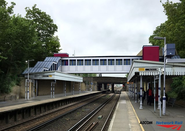 More than 4.5m passengers to benefit from new lifts and footbridges in South East London as plans progress for Access for All improvements: Plumstead - Access for All