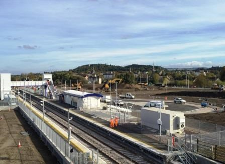 New Forres station