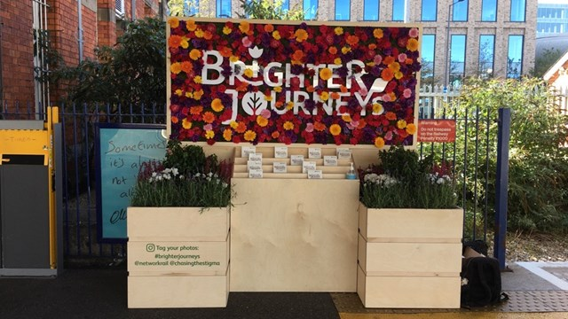 Brighter Journeys campaign comes to Liverpool Lime Street station: Brighter Journeys installation coming to Liverpool