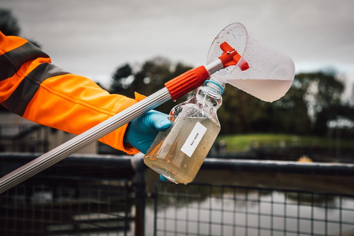 water sample sewage-3