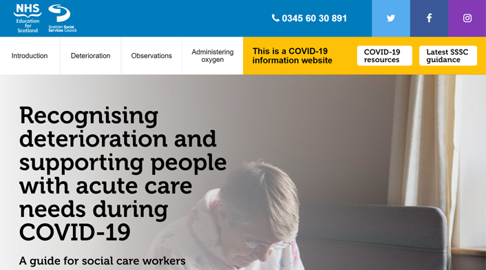 New acute care needs resource: Recognising deterioration resource (image)