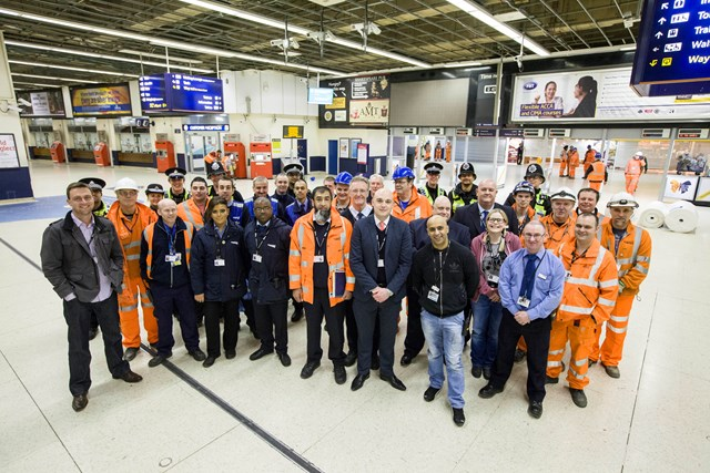 New Birmingham New Street - station team say goodbye to old concourse: New Birmingham New Street opens to passengers