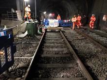 Primrose Hill tunnel work