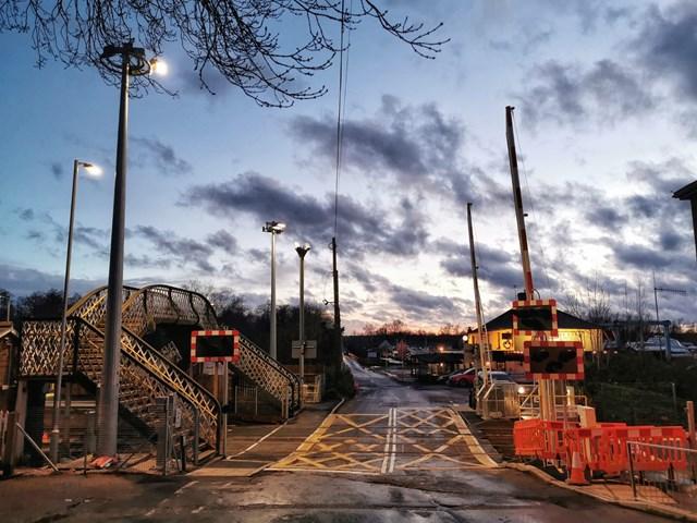 Brundall level crossing