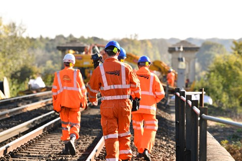 Brighton Mainline Upgrade Ouse Valley Oct 10  (11)