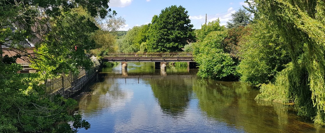 South East London and North Kent passengers urged to plan ahead of improvement works over the May Bank Holidays: Bridge over River Stour