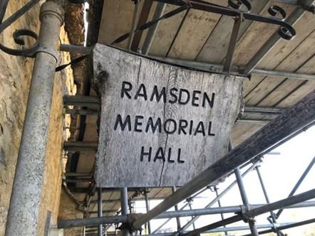 Ramsden Parish Hall 2 social