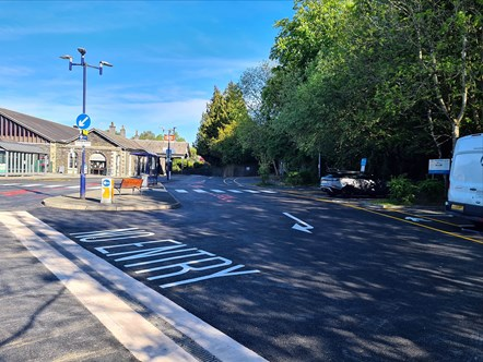£80k investment transforms Windermere station car park: Windermere Carpark 1