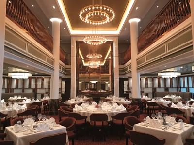Spirit of Adventure Food & Drink Fact Sheet: Saga Cruises - Spirit of Discovery - Grand Dining Room