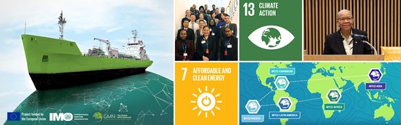 EU/IMO global project drives energy efficiency in the maritime sector: EU-IMO global project banner large