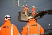 Previous overhead line electrical work
