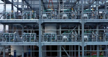 Siemens technologies support plan to create one of UK's largest digital chemical facilities: Lianhetech superstructure with skid mounted modular temperature control modules utilising Siemens' PCS 7 interfaceintegrating with Siemens Smart Instrumentation