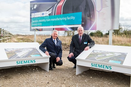First trainee roles announced for Goole rail manufacturing project: Siemens TFL 002