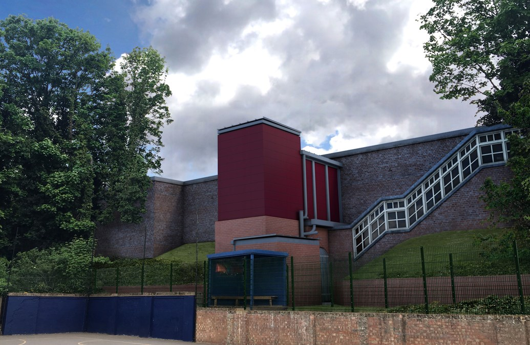 Green light for £2.5m accessibility scheme at Carshalton station: AfA A1 Carshalton VIEW 01