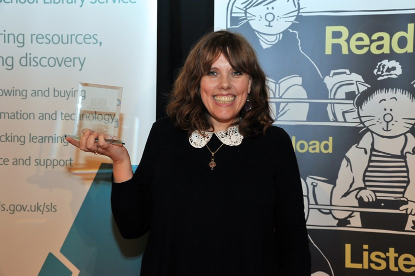 Leeds Book Awards a big hit with youngsters and authors: janeelson.jpg