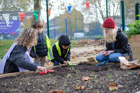 Forestry England, Birmingham Trees for Life, and the National Paralympic Heritage Trust all benefit from HS2 Community and Business Funds: Castlehaven Park 00022