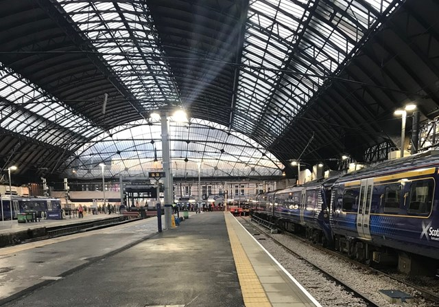Platform shot