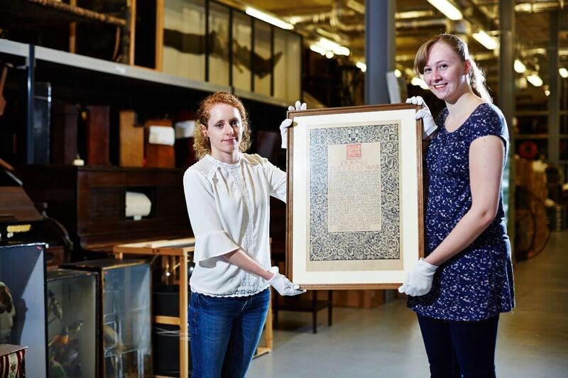 Leeds Museums and Galleries object of the week- Temple Newsam certificate: laurenthewenti.jpg