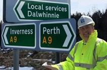 Brown has designs on Dalwhinnie: Keith Brown Dalwhinnie