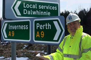 Keith Brown Dalwhinnie