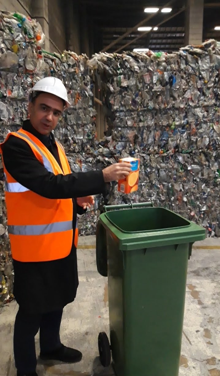 Leeds residents now able to recycle more plastic items in their green bins: 20191114hwmartins-312490.jpg