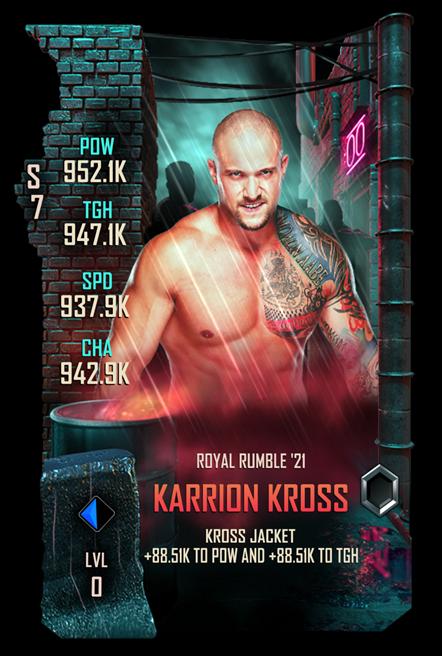 WWESC S7 Karrion Kross Royal Rumble
