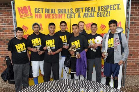 U18 winners - Normanton