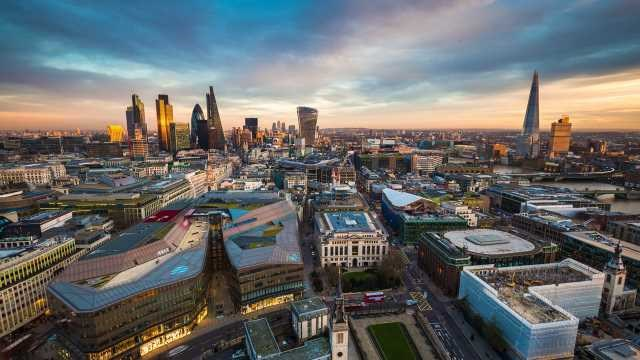 London and UK top European tech investment tables: Business skyline pic 640 360