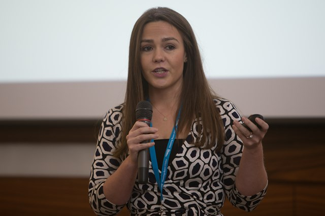 Tech Sales Manager Rose Chegwin Talks To Finalists At