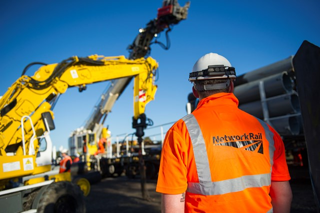 Network Rail to complete Aberdeen-Inverurie double-tracking this summer: Network Rail engineer