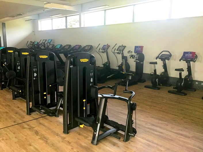 Middleton Leisure Centre: Equipment on offer at the new gym in Middleton Leisure Centre includes 70 exercise stations.