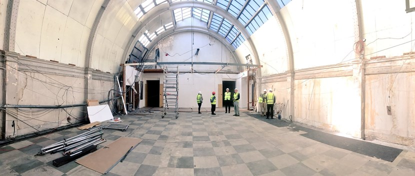 Leeds Art Gallery will reopen to the public on 13 October 2017 with a newly uncovered exhibition space, a major ARTIST ROOMS Joseph Beuys exhibition and new presentation of the collection featuring re: centralgalleryroofdiscoveryleedsartgallery2016.imagedladesign.jpg