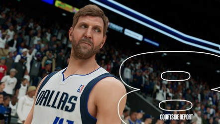 NBA 2K22 MyNBA Courtside Report 8