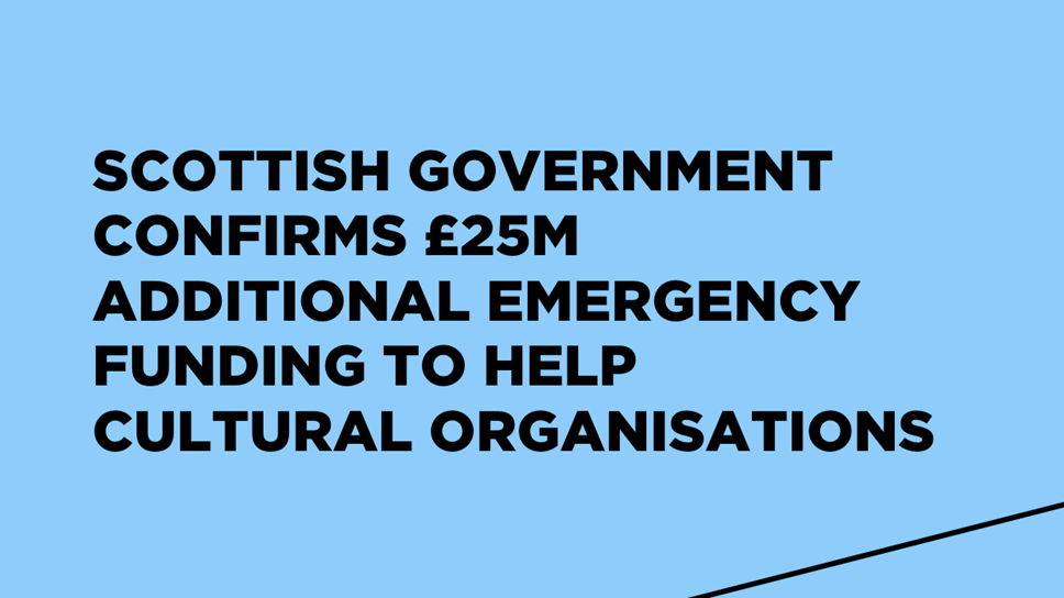 Further Emergency Support For Culture Graphic 1200