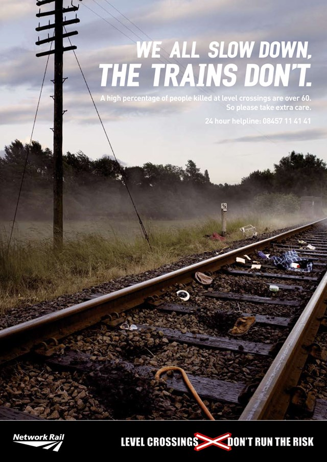 Don't Run the Risk poster (track): used in the 2007 campaign