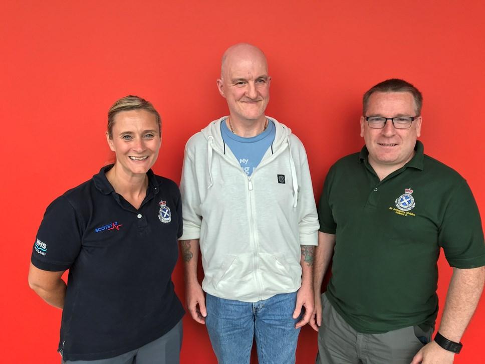 Man saved by paramedics after 30ft fall: Ged Dunsmore
