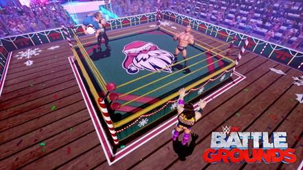 WWE 2K BG HOLIDAY ARENA